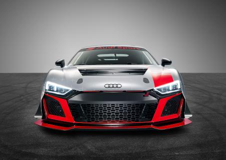 Front des 2020er-Modells des R8 LMS GT4