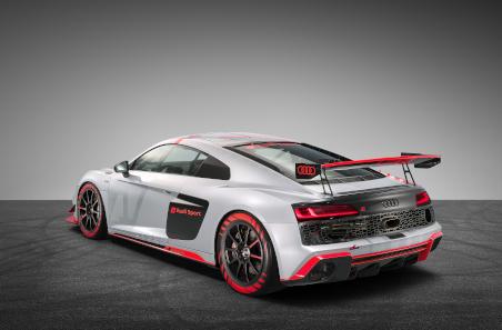 Heckansicht des 2020er-Modells des R8 LMS GT4