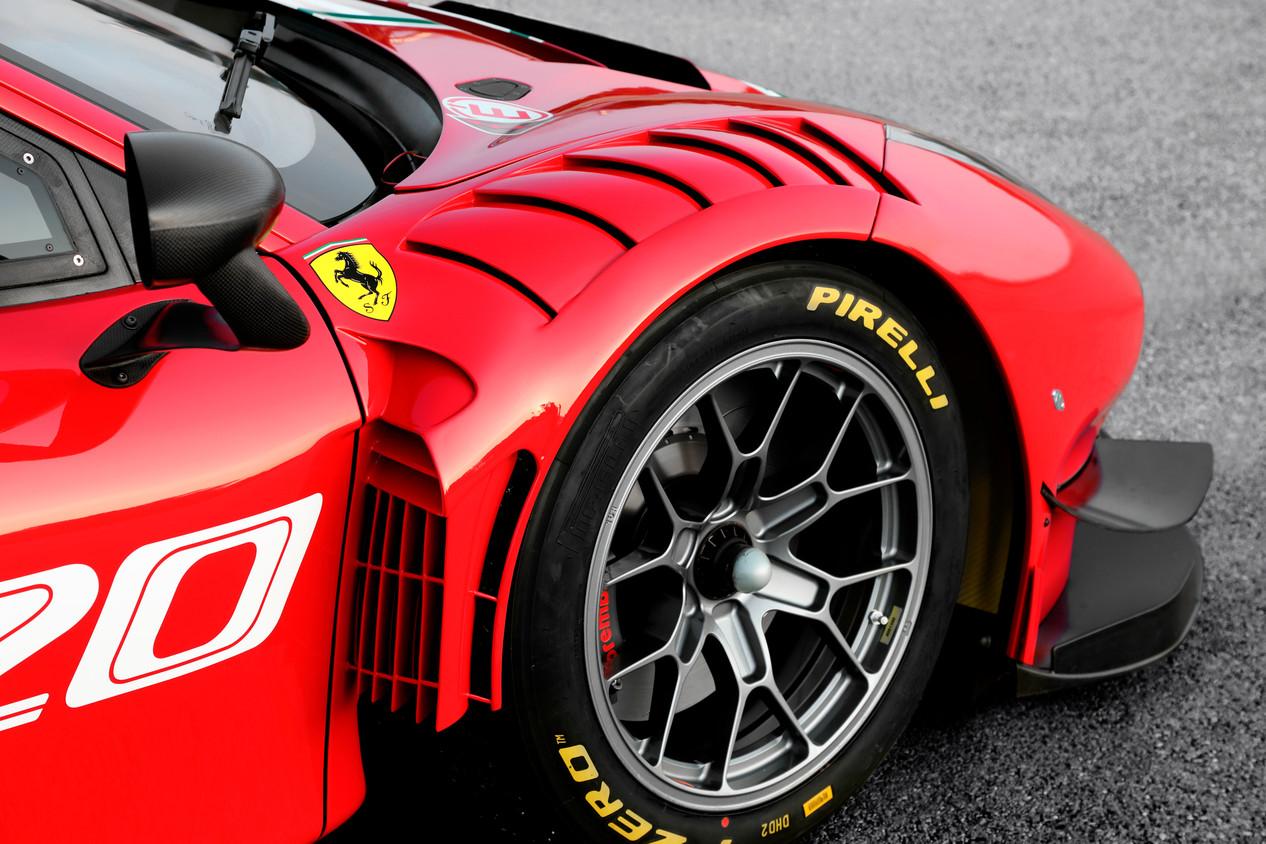 Ferrari 488 GT3 EVO zeigt die Umsetzung seiner Aerodynamik