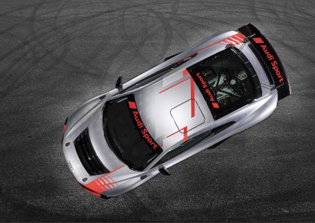 Draufischt des 2020er-Modells des R8 LMS GT4