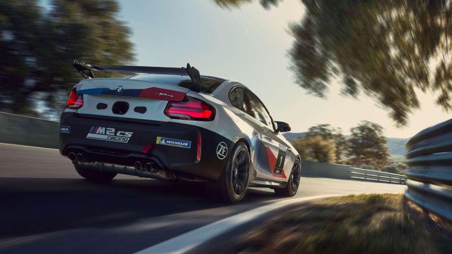 M2 CS Racing von hinten
