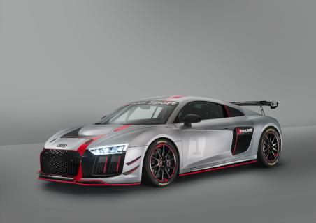 Front des 2017er-Modells des R8 LMS GT4