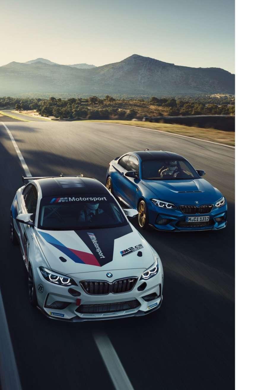 BMW M2 CS Racing und M2 CS