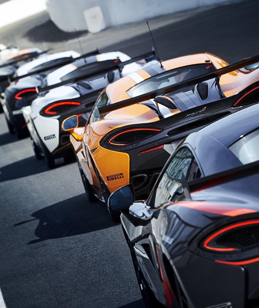 Heck des McLaren 570S GT4