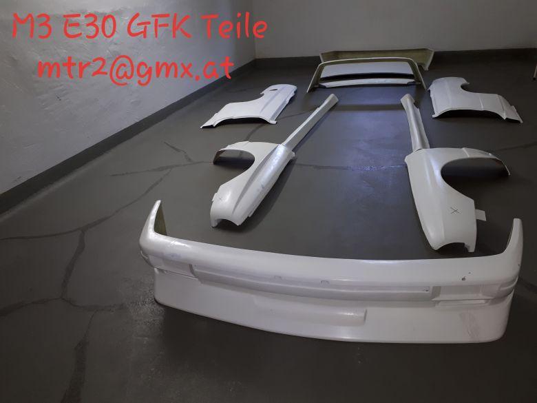 bmw m3 e30 frontsch rze kotfl gel c s ule spoiler dtm. Black Bedroom Furniture Sets. Home Design Ideas