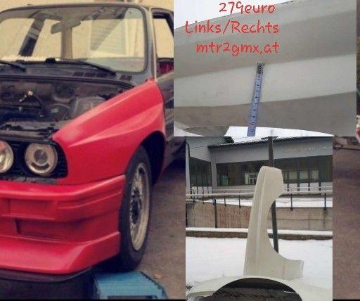 bmw m3 e30 kotfl gel fender xl breit rally motorsport. Black Bedroom Furniture Sets. Home Design Ideas