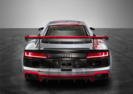 Heck des 2020er-Modells des R8 LMS GT4