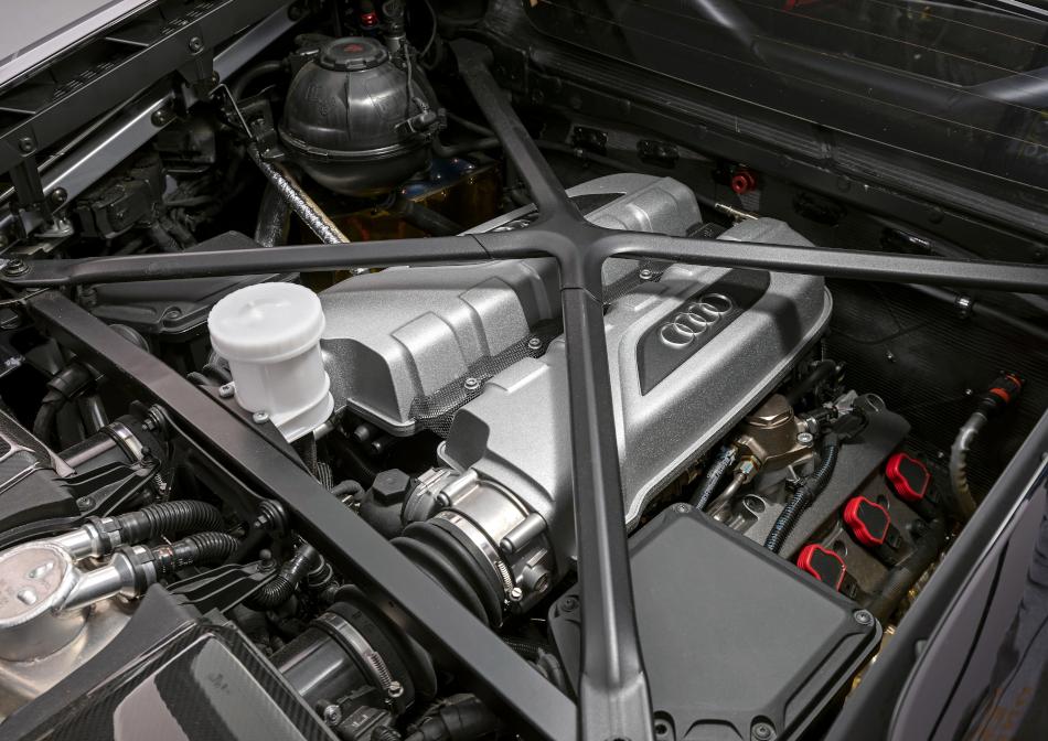 V10-Ottomotor des R8 LMS GT4