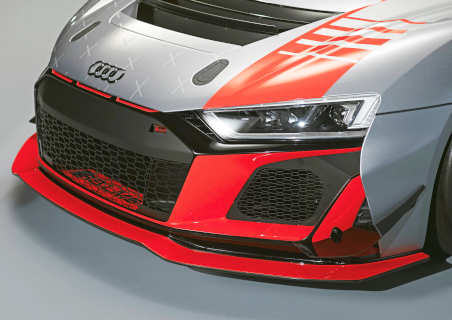 Neue Bug-Stoßfänger des 2020er-Modells des R8 LMS GT4