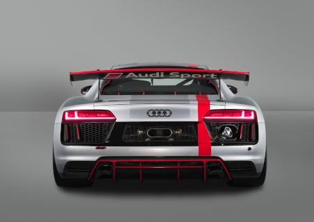 Heck des 2017er-Modells des R8 LMS GT4