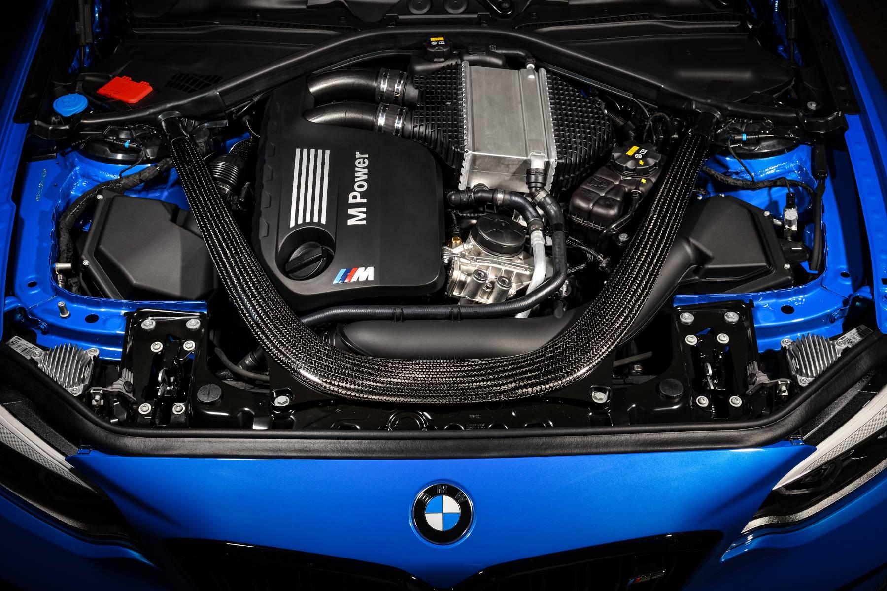 Motorraum des M2 CS 2020