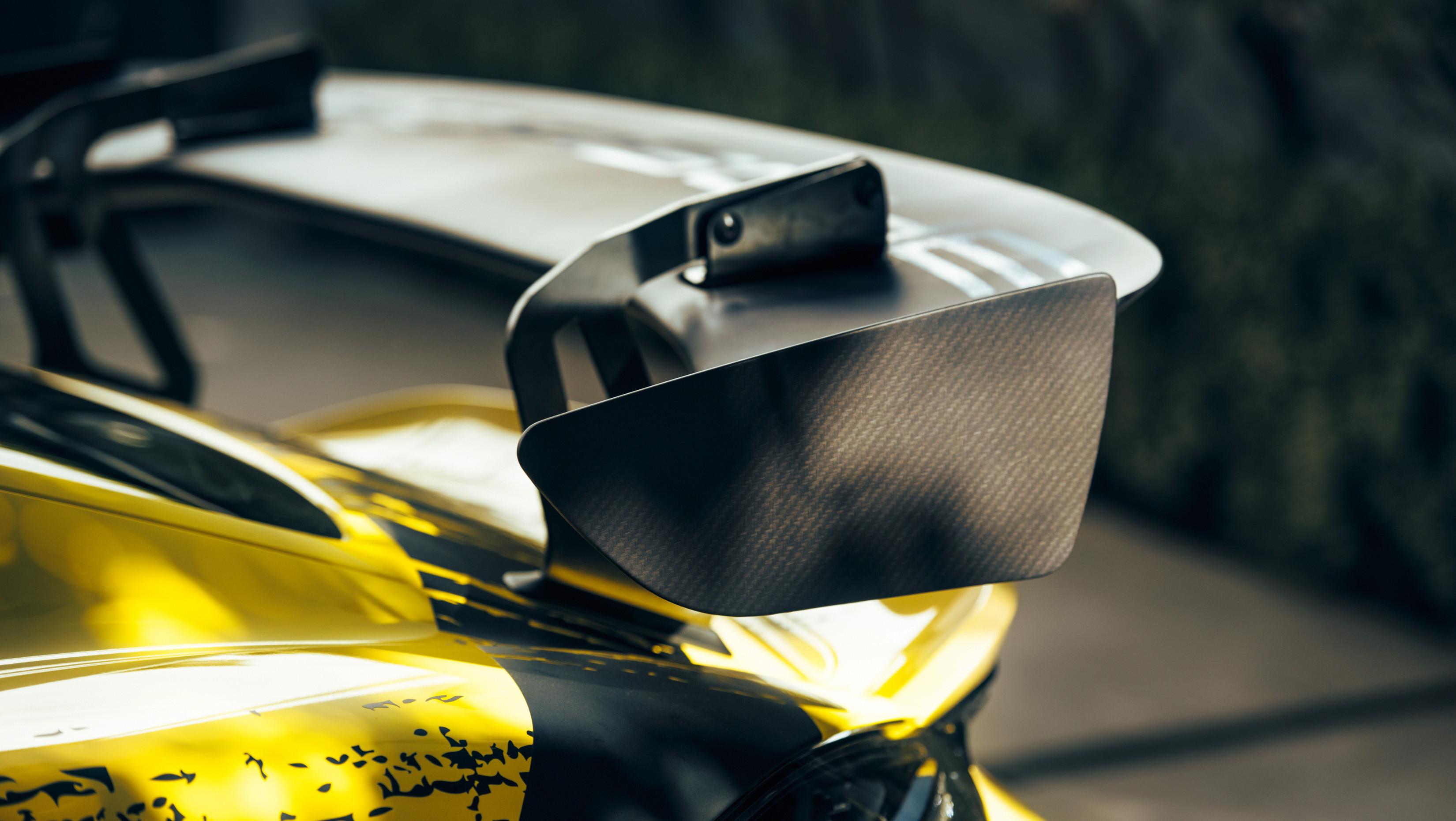 Porsche 718 Cayman GT4 Clubsport Heckspoiler