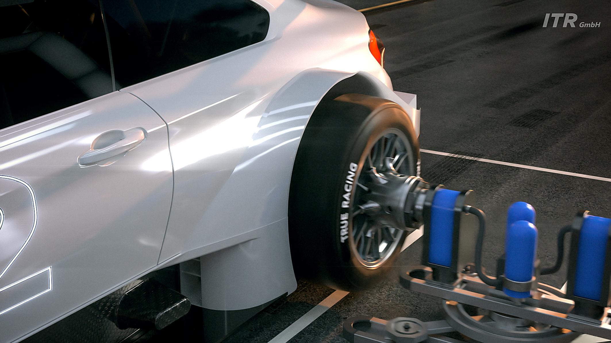 autoamtisierter Reifenwechsel in der DTM