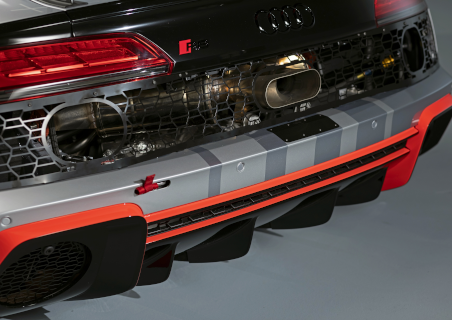 Neues Heck des 2020er-Modells des R8 LMS GT4